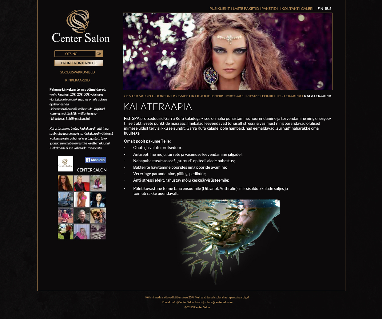 center salon web3